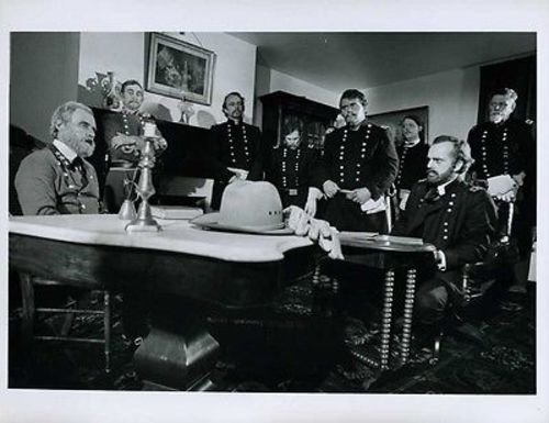 "Michael Fairman Lary Lewman The Submission At Appomattox Orig 7x9"" Photo #J4059"