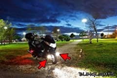 Factory fog/driving lights cost upwards of $260. BlingLights lamps install within the factory fog lamp spots, outperform the factory lamps and cost less, guaranteed. This auction includes a complete fog/driving lamp kit for use on the model s...