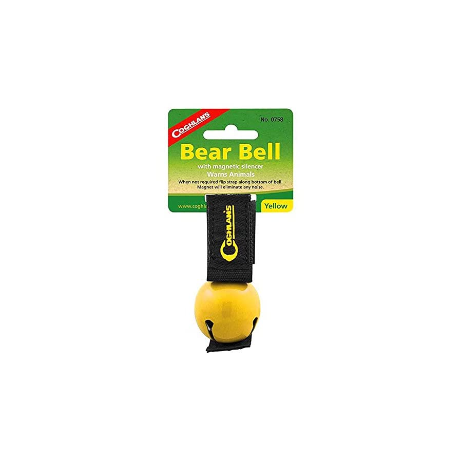 Coghlan's Yellow Bear Bell Metal w/ Magnetic Silencer