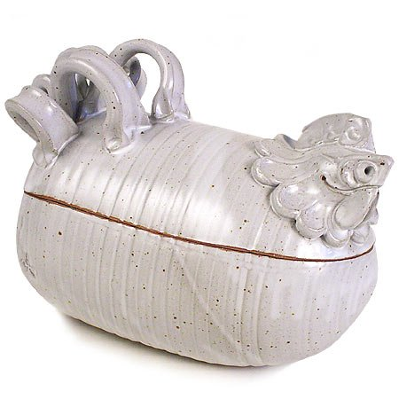 Cheap Chicken Cooker/Roaster, Handmade Stoneware Pottery
