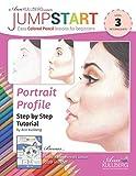 Jumpstart Portrait Profile & White Kitten Tutorial: Easy Colored Pencil Lessons for Beginners
