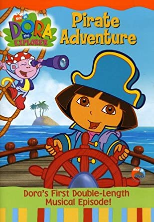 Amazoncom Dora The Explorer Pirate Adventure Fatima Ptacek