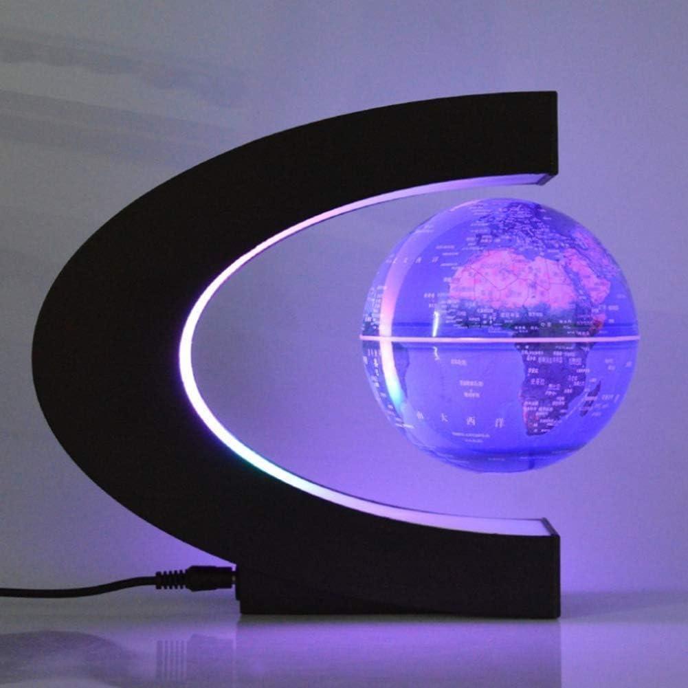 フローティンググローブ回転磁気浮上C形グローブ世界地図オフィスデスクトップ工芸品装飾品実用的
