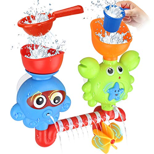 DUAL SUCTION CUP BATH TOY