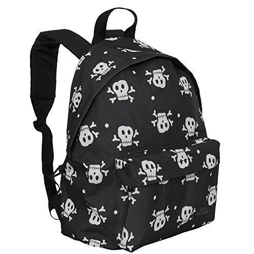 Trespass - Mochila para niños mochila escolar piratas de calaveras negras: Amazon.es: Ropa y accesorios