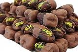 Bateel USA Wanan Dates Milk Chocolate Pistachio