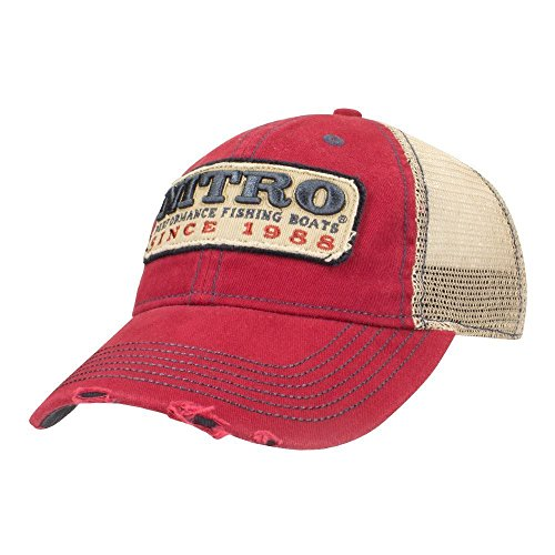 Nitro Fishing Boats Legacy Low Profile Unstructured Cap Hat