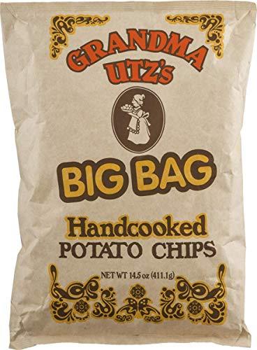 Grandma Utz's Handcooked Potato Chips 14.5 oz. Big Bag (3 Bags)