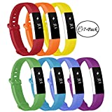 Fundro Replacement Bands Compatible with Fitbit Alta and Fitbit Alta HR, Newest Sport Strap Wristband with Secure Metal Buckle