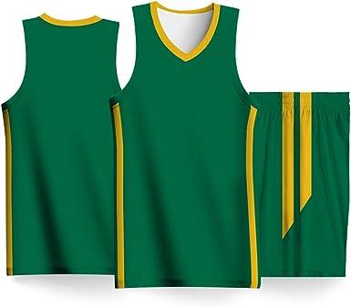 Uniforme de Baloncesto DIY, Rubio Gasol España Brasil Copa Mundial de Baloncesto Masculino, Malla Bordada Baloncesto Swingman Jersey: Amazon.es: Ropa y accesorios