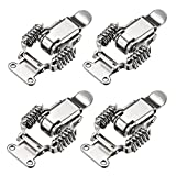uxcell 4pcs Iron Spring Loaded Toggle Latch Catch Clamp 65mm