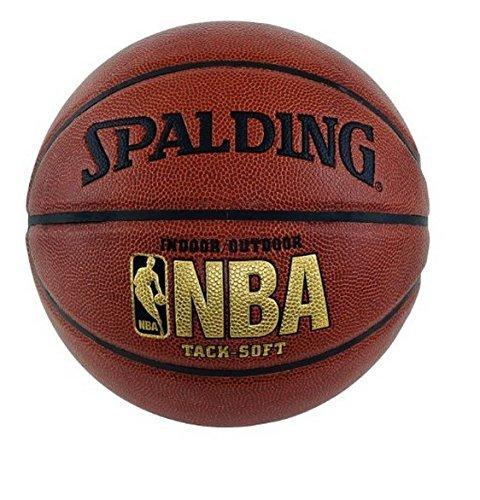 Spalding NBA Tack Soft Basketball - Official Size 7 (29.5