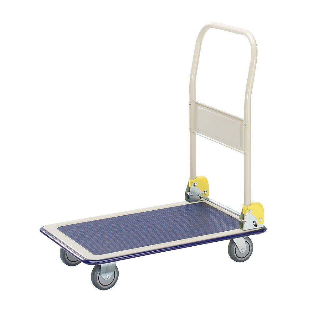 MAX platform trolley push handle folding