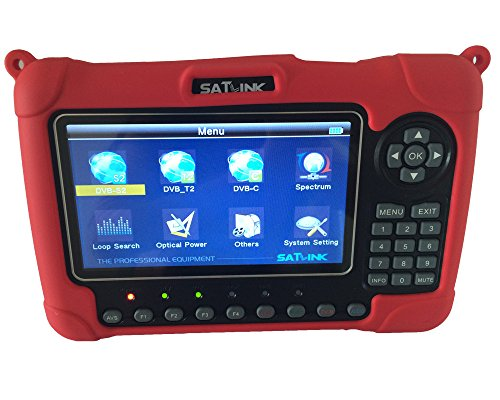 SATLINK WS-6980 DVB-S2/C/T2 Combo Optical Power Detection Constellation Analyzer/ Spectrum Analyzer Digital Satellite Finder Meter