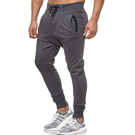 Nordira - Pantalones de Yoga para Hombre, con cordón ...