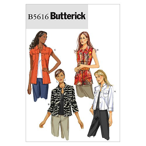 Butterick Patterns B5616 Misses' Jacket, Size AA (6-8-10-12)