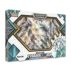 Smash chaos with shiny Zygarde-GX! Unity is strength for Zygarde-GX! Many cores and cells come together to form this Guardian of the Ecosystem, which appears here in its 50% forms as a rare shiny Pokémon. With this set, you get the legendary ...