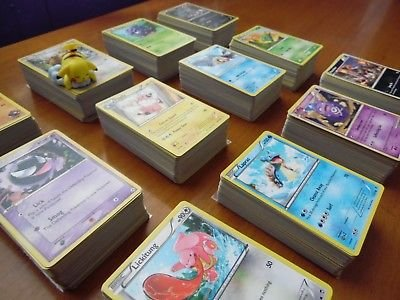 250 Assorted Pokemon Cards with Rares & Foils (First Series Pokemon Cards)