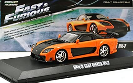 Amazon.com: GREENLIGHT 1: 43SCALE THE FAST AND THE FURIOUS HAN'S ...