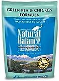 Natural Balance Green Pea and Chicken Formula Cat Food, 5-Pound Bag, My Pet Supplies