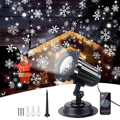 Children's Day LED Projector Light Yasorn Snowflake Lamp