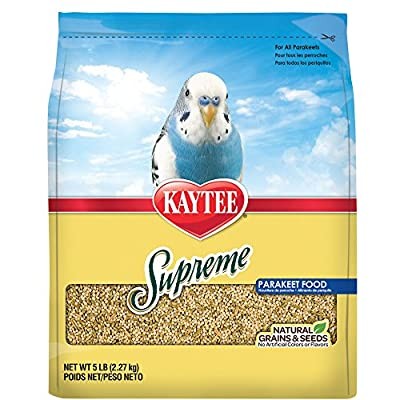Kaytee Supreme Bird Food for Parakeets from Central Pet Manufacturing