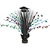 "Amscan Cool Graduation Party Spray Table Centerpiece Decoration, Multicolor, 18"""
