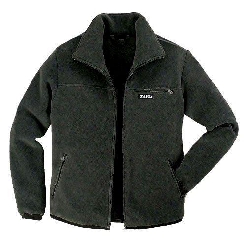 Taiga Men's Polartec-300 Fleece Jacket (Size: L, Black)