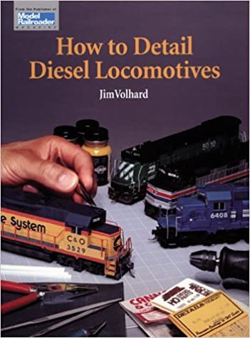 Book How to Detail Diesel Locomotives (Model Railroader)