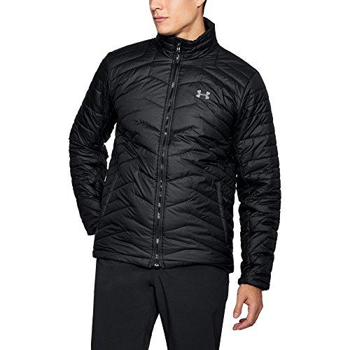 Under Armour Men's ColdGear Reactor Jacket, Black/Black, X-Large