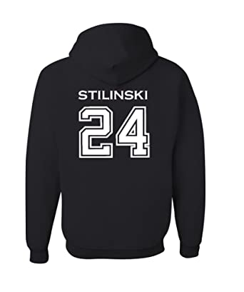 Adult Stilinski 24 Beacon Hills Lacrosse 2-Sided Hoodie (Youth X-Large 78a53bd4e