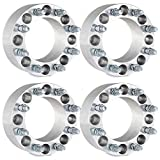 Wheel Spacers,ECCPP 4X 8 Lug 3'' 8x6.5 to 8x6.5 126.15mm 14x1.5 for 1999-2000 GMC K3500 K2500 Sierra 3500 HD Chevrolet 3500 HD 2500HD 1500HD