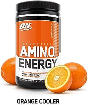 Optimum Nutrition Essential Amino Energy Orange Extract, 30 Servings