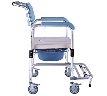 gu0026m shower chair with wheels commode chair and padded toilet seat shower transport chair shower wheelchair