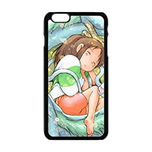 Lovely sleeping dragon girl Cell Phone Case for Iphone 6 Plus