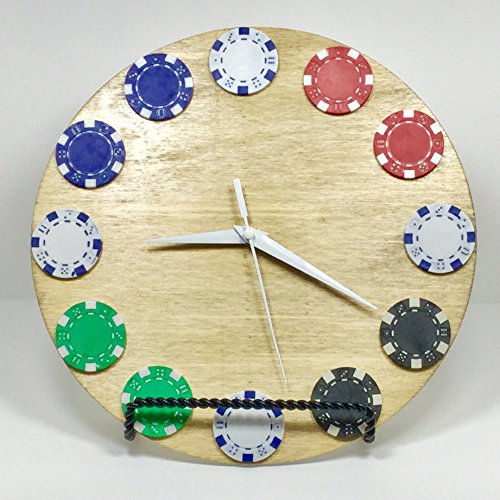 Clock, Poker Chip by Gifted Chicken