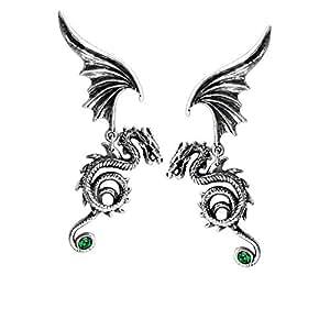 Bestia Regalis Gothic Dragon Earrings