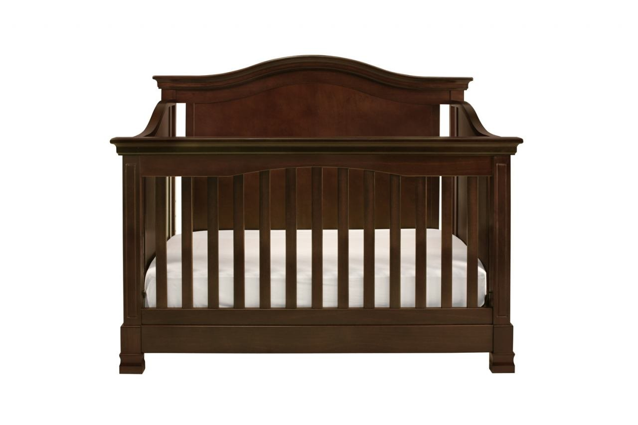 Full Size Conversion Kit Bed Rails for Million Dollar Baby Ashbury, Foothill & Louis Cribs - Espresso by Grow-with-Me Crib Conversion Kits (Image #8)