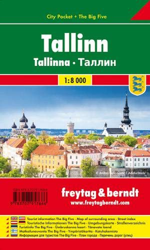 Tallinn City Pocket + the Big Five Waterproof 1:8 000
