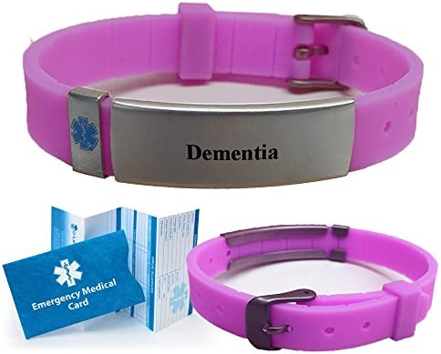Dementia Advisor Slim Medical Alert ID Bracelet