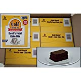 Gold Medal Devils Food Cake Mixes 6 Case 5 Pound