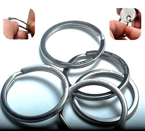 TOOL+AND+NAIL+FREE%2C+BANG+TI+Titanium+Flexible+Split+Key+Rings+1.25%22+%28K32%2C+Pack+of+5%29
