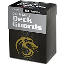 (1) Gray BCW Deck Guard Pack - Trading Card Sleeves - 80 Sleeves per Pack - BCW-DGM80-GRY