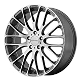 KMC Wheels KM693 Maze Pearl Gray Wheel with Brushed Face ...