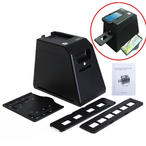 kingzer Photo Slide Negative Films Scanner 35mm Film Mono...