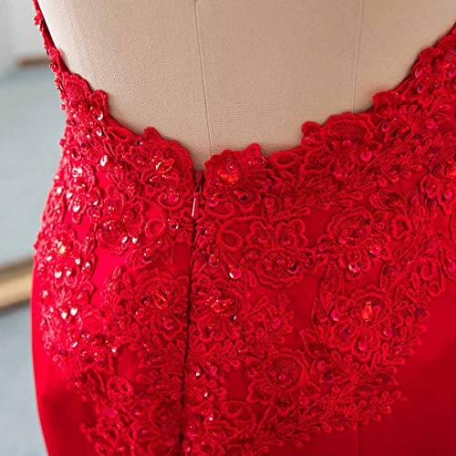 Evening Backless Dress Sequins Applique Women's Prom Long Gowns Changuan Mermaid Light Blue Owxz0qWU