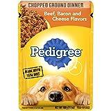 PEDIGREE Adult Wet Dog Food Chopped Ground Dinner