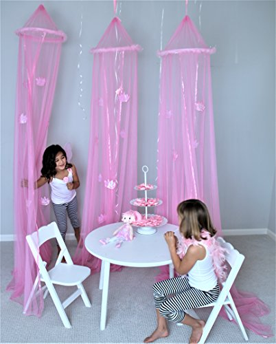 Butterfly Craze Girls Princess Canopy