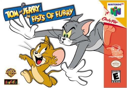 Tom Jerry Fists Furry Nintendo 64