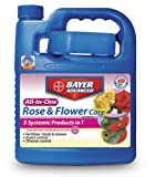 Bayer Advanced 701262 All-In-One Rose and Flower Care Concentrate, 64-ounce
